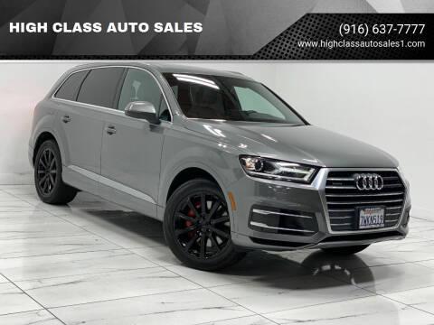2017 Audi Q7 for sale at HIGH CLASS AUTO SALES in Rancho Cordova CA