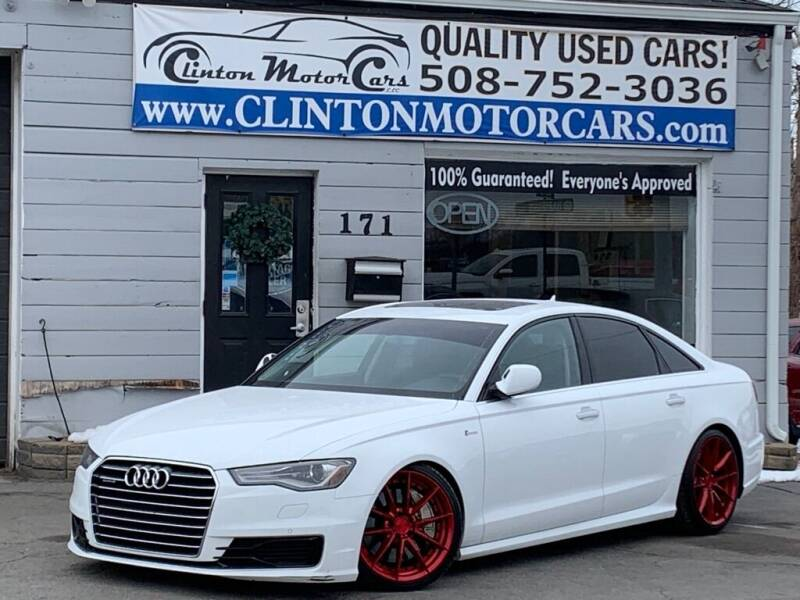2016 Audi A6 for sale at Clinton MotorCars in Shrewsbury MA