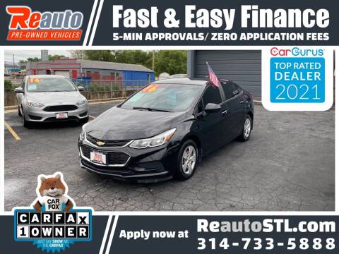 2016 Chevrolet Cruze for sale at Reauto in Saint Louis MO