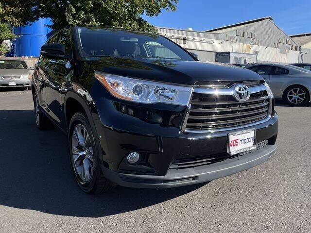 2014 Toyota Highlander for sale in Woodinville, WA