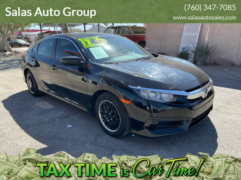 2017 Honda Civic for sale at Salas Auto Group in Indio CA