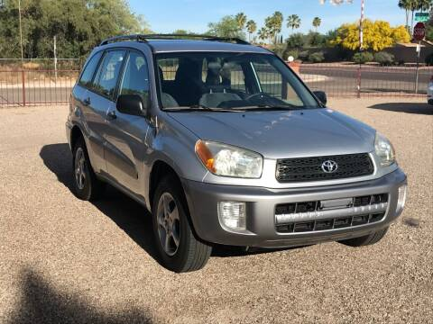 2003 Toyota RAV4 for sale at All Brands Auto Sales in Tucson AZ