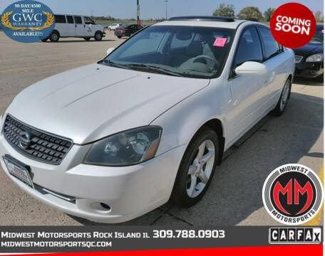 2005 Nissan Altima for sale at MIDWEST MOTORSPORTS in Rock Island IL