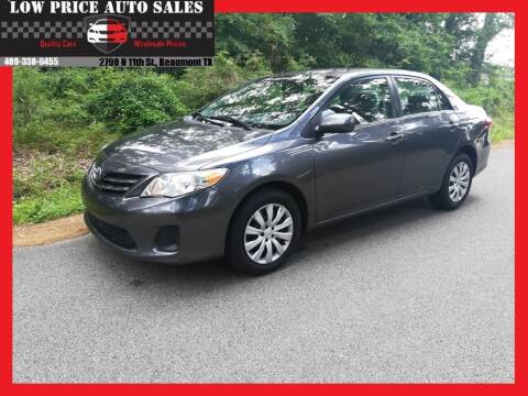 2013 Toyota Corolla for sale at Low Price Autos in Beaumont TX