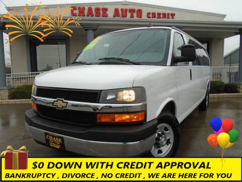 2017 Chevrolet Express Passenger for sale at Chase Auto Credit in Oklahoma City OK
