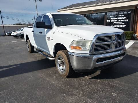 2012 RAM Ram Pickup 2500 for sale at Guidance Auto Sales LLC in Columbia TN