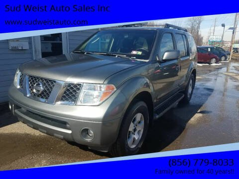 2007 Nissan Pathfinder for sale at Sud Weist Auto Sales Inc in Maple Shade NJ