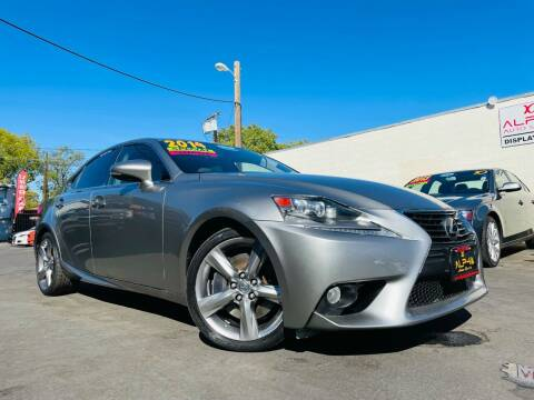 2014 Lexus IS 350 for sale at Alpha AutoSports in Roseville CA