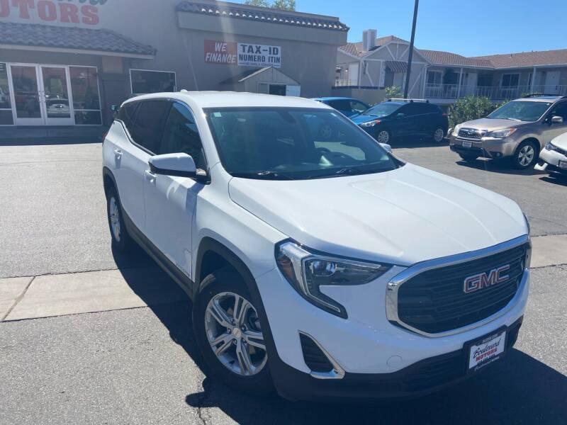 2018 GMC Terrain for sale at Boulevard Motors in Saint George UT