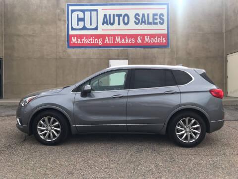 2020 Buick Envision for sale at C U Auto Sales in Albuquerque NM