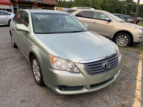 2008 Toyota Avalon for sale at D & M Discount Auto Sales in Stafford VA