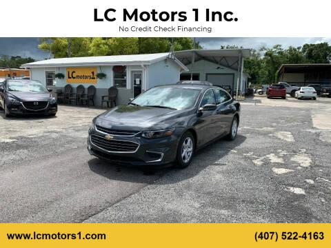 2018 Chevrolet Malibu for sale at LC Motors 1 Inc. in Orlando FL