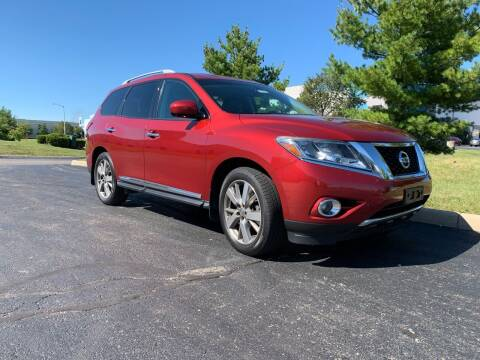 2014 Nissan Pathfinder for sale at Freedom Automotives in Grove City OH