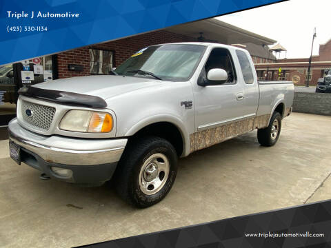 1999 Ford F-150 for sale at Triple J Automotive in Erwin TN