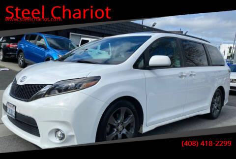 2015 Toyota Sienna for sale at Steel Chariot in San Jose CA