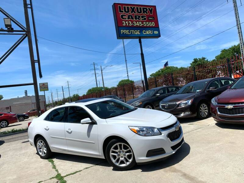 2015 Chevrolet Malibu for sale at Dymix Used Autos & Luxury Cars Inc in Detroit MI