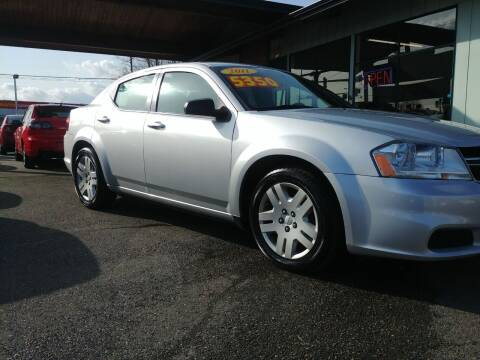 2011 Dodge Avenger for sale at Low Auto Sales in Sedro Woolley WA
