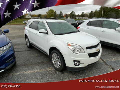 2011 Chevrolet Equinox for sale at Paris Auto Sales & Service in Big Rapids MI