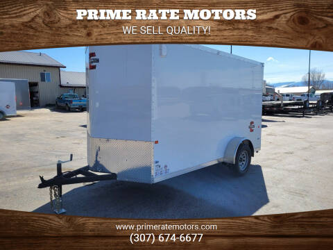 2021 Charmac 6' x 12' Single Wheel Cargo for sale at PRIME RATE MOTORS in Sheridan WY