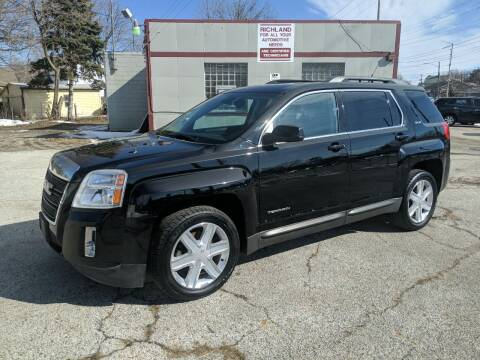 2012 GMC Terrain for sale at Richland Motors in Cleveland OH