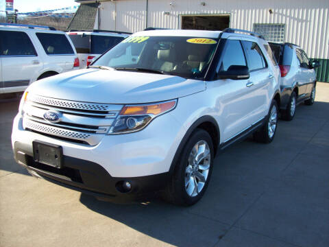 2012 Ford Explorer for sale at Summit Auto Inc in Waterford PA