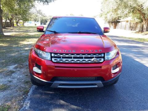 2013 Land Rover Range Rover Evoque for sale at Royal Auto Mart in Tampa FL