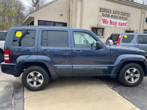 2008 Jeep Liberty for sale at BORGES AUTO CENTER, INC. in Taunton MA