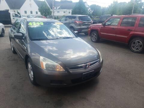 2006 Honda Accord for sale at TC Auto Repair and Sales Inc in Abington MA