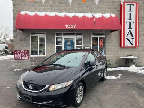 2013 Honda Civic for sale at Titan Auto Sales LLC in Albany NY