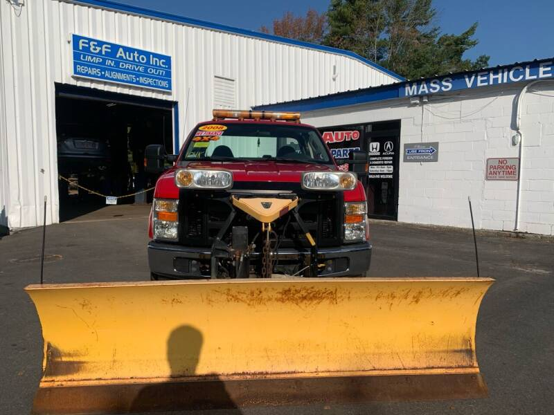 2008 Ford F-250 Super Duty for sale at F&F Auto Inc. in West Bridgewater MA