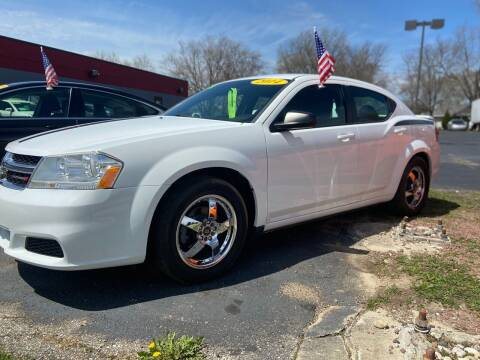 2014 Dodge Avenger for sale at Stach Auto in Janesville WI