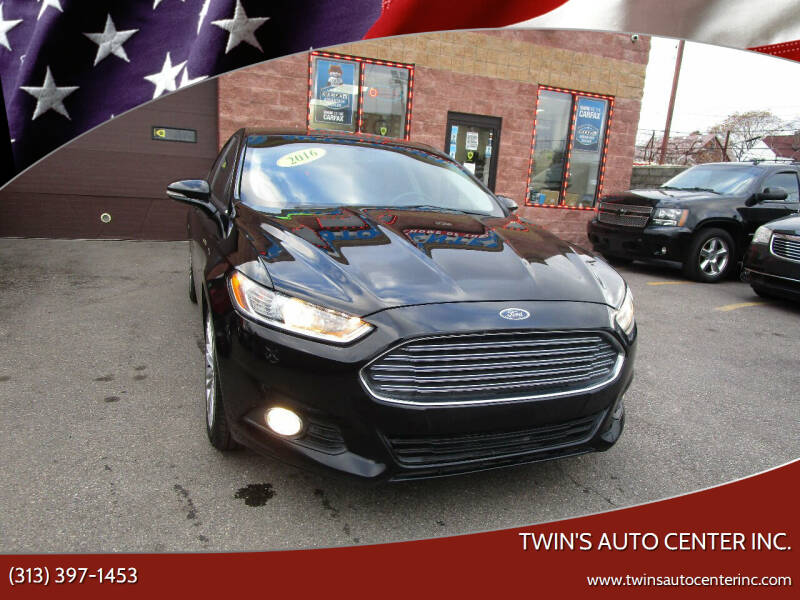 2016 Ford Fusion for sale at Twin's Auto Center Inc. in Detroit MI