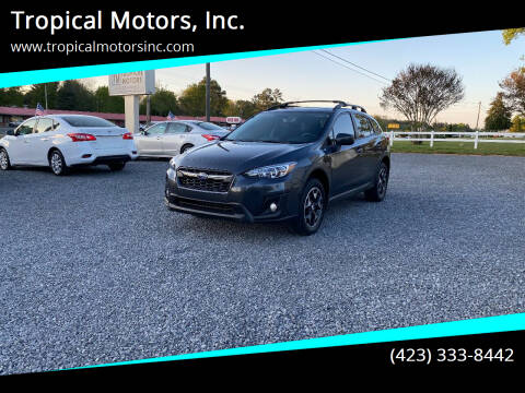 2018 Subaru Crosstrek for sale at Tropical Motors, Inc. in Riceville TN