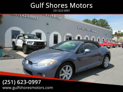 2007 Mitsubishi Eclipse Spyder for sale at Gulf Shores Motors in Gulf Shores AL