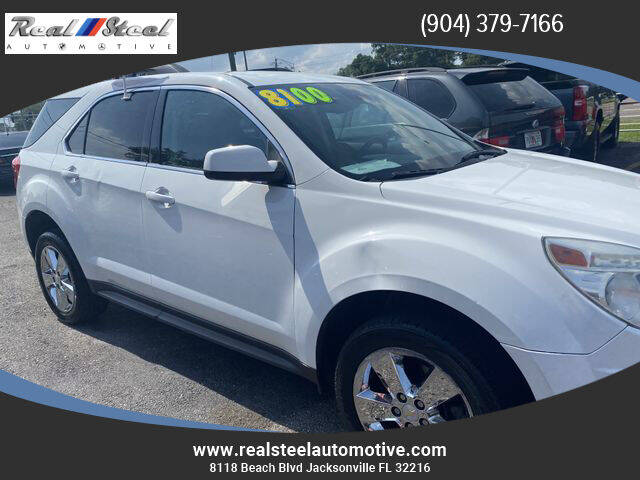 2012 Chevrolet Equinox for sale at Real Steel Automotive in Jacksonville FL