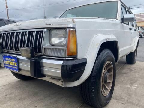 1985 Jeep Cherokee for sale at A-1 Auto Broker Inc. in San Antonio TX