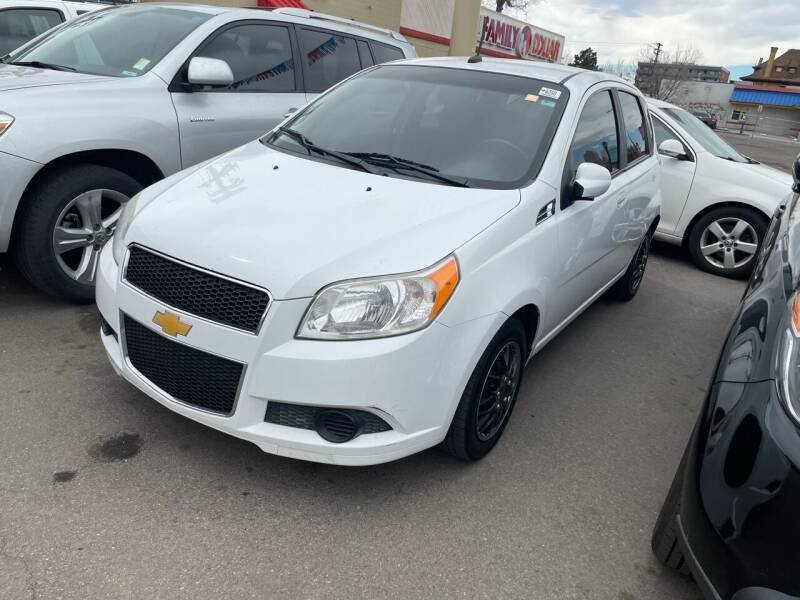 2011 Chevrolet Aveo for sale at Capitol Hill Auto Sales LLC in Denver CO