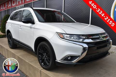 2018 Mitsubishi Outlander for sale at Alfa Romeo & Fiat of Strongsville in Strongsville OH