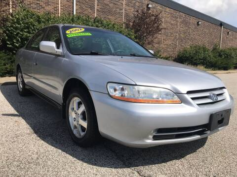 2002 Honda Accord for sale at Classic Motor Group in Cleveland OH