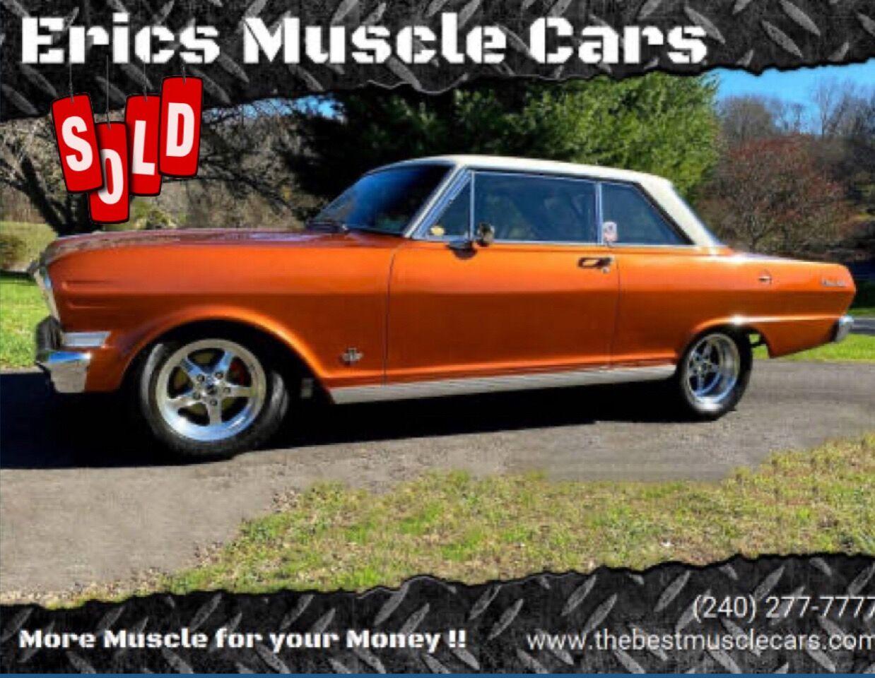 1964 Chevrolet Nova SS SOLD SOLD SOLD