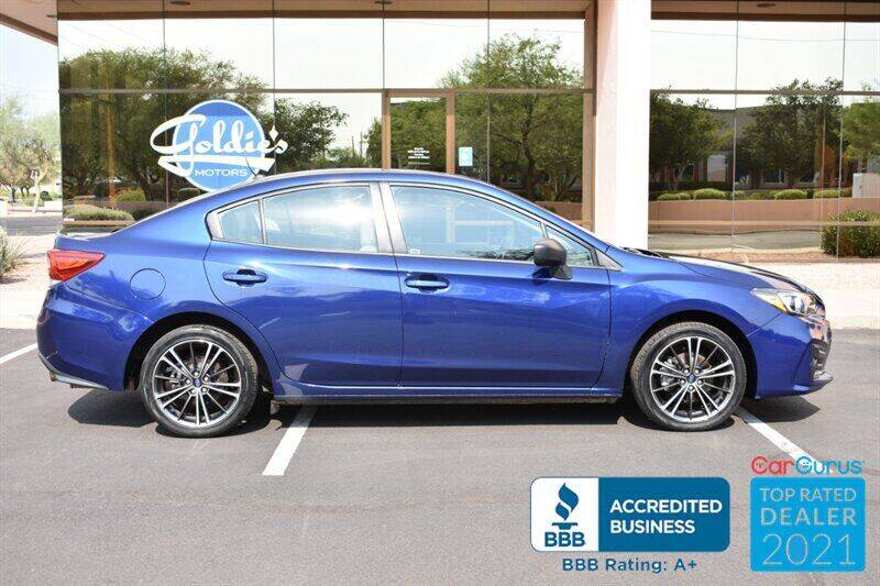 2017 Subaru Impreza for sale at GOLDIES MOTORS in Phoenix AZ