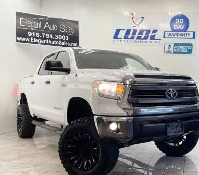 2015 Toyota Tundra for sale at Elegant Auto Sales in Rancho Cordova CA