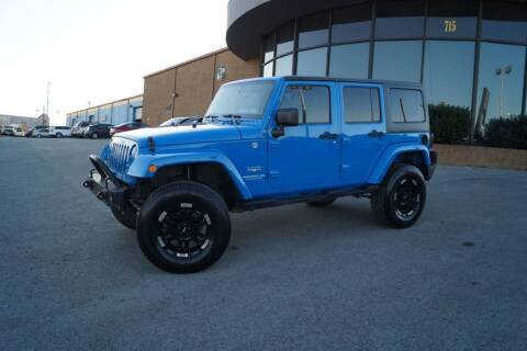 2012 Jeep Wrangler Unlimited for sale at Next Ride Motors in Nashville TN
