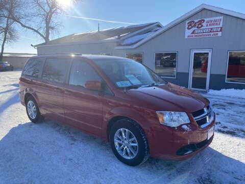 2016 Dodge Grand Caravan for sale at B & B Auto Sales in Brookings SD