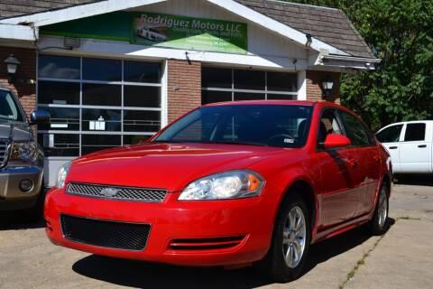 2013 Chevrolet Impala for sale at RODRIGUEZ MOTORS LLC in Fredericksburg VA