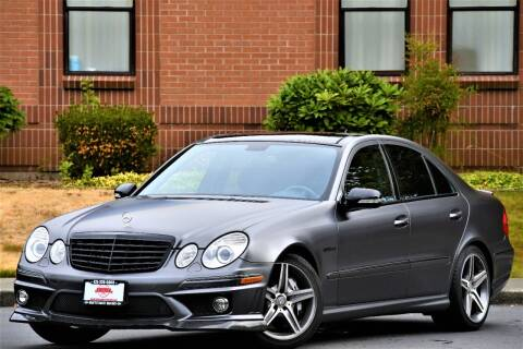 2008 Mercedes-Benz E-Class for sale at SEATTLE FINEST MOTORS in Lynnwood WA