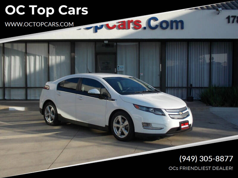 2013 Chevrolet Volt for sale at OC Top Cars in Irvine CA