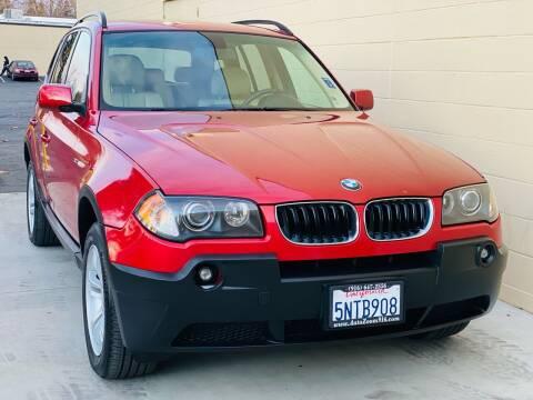 2005 BMW X3 for sale at Auto Zoom 916 in Rancho Cordova CA