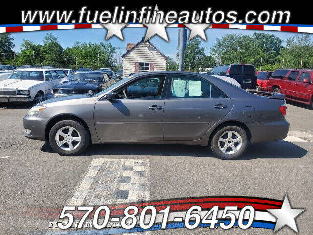 2005 Toyota Camry for sale at FUELIN FINE AUTO SALES INC in Saylorsburg PA