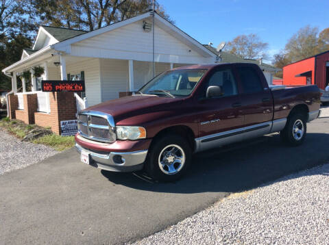 2002 Dodge Ram Pickup 1500 for sale at Ace Auto Sales - $2000 DOWN PAYMENTS in Fyffe AL